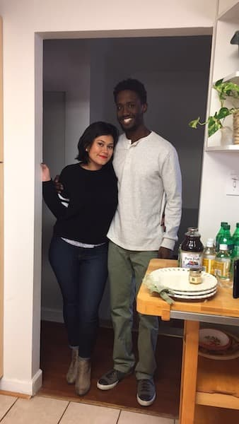 Carla and her partner, Sean