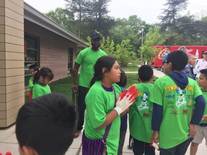 Culmore Cleanup Participants
