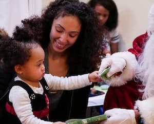 Celebrating the Holidays at  Second Story for Young Mothers